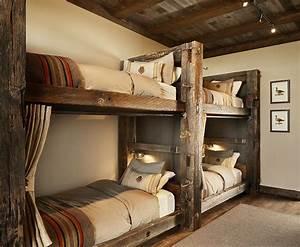 Best 25+ Rustic bunk beds ideas on Pinterest Cabin bunk