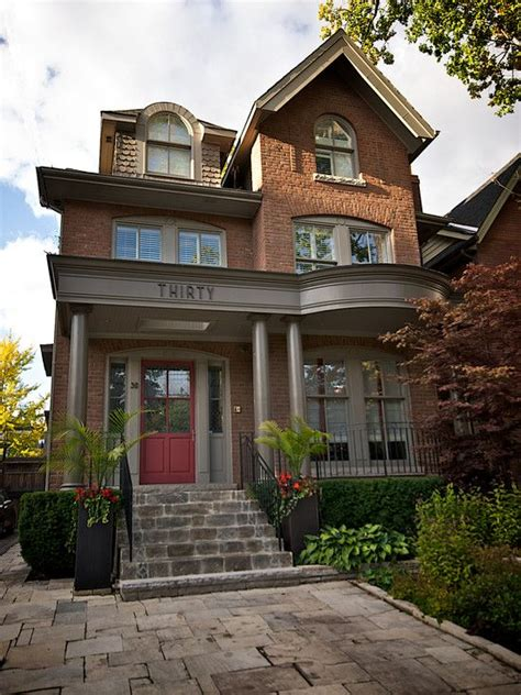 1000 ideas about brick house trim on