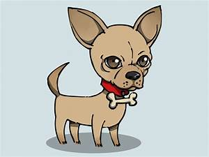 How To Draw A Cute Dog With Big Eyes | How To