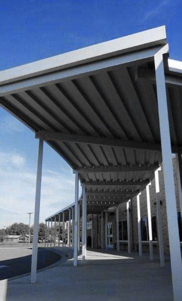 architectural metal canopies  hoffman awning