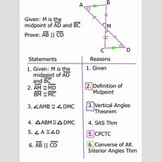 Proving Lines Parallel With Triangle Congruence Sss Sas Aas And Asa  Algebra And Geometry Help