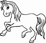 Horse Coloring Pages Printable Cool Animal Horses Colouring Baby Sheets Foal Pony Coloringfolder sketch template