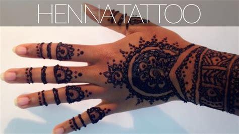 henna tattoo tutorial  tips tricks   dark