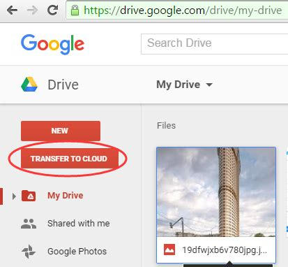 how to transfer documents from one drive account to another