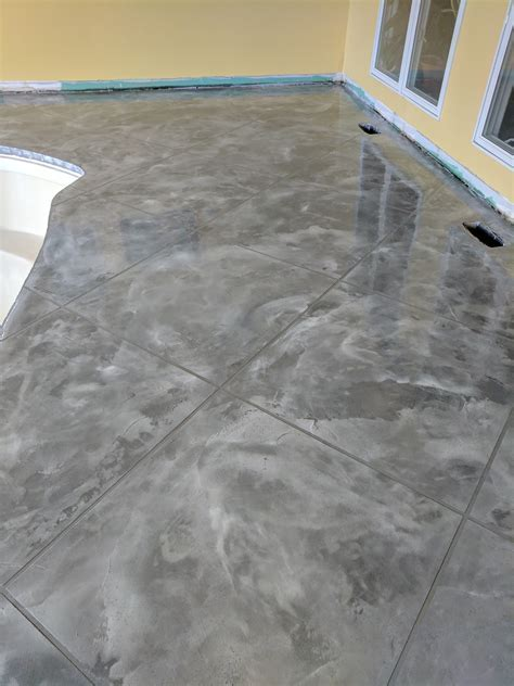 Decorative Concrete Flooring Columbus Ohio   Epoxy