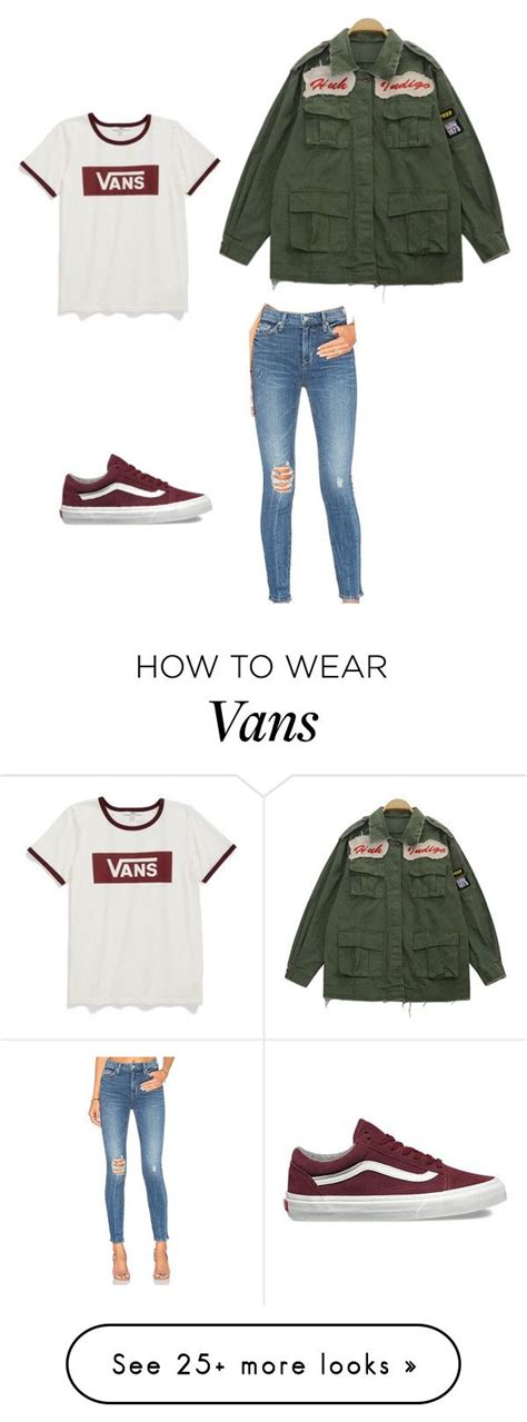 Outfits To Wear With Vans Girl