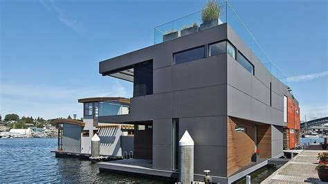 Boat House For Sale Seattle by 3 2m Modern Houseboat In Seattle Will Float Your Boat