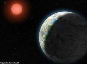 Planeta parecido a la Tierra, que puede tener agua