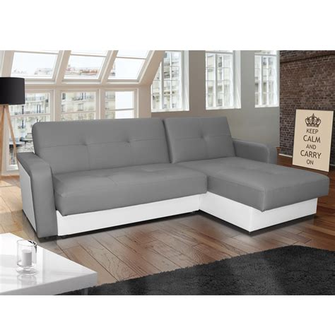 canap amazon canap d angle gris blanc trendy canape d angle gris chine