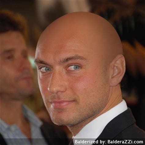 Commfatadual Jude Law Bald
