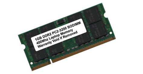 1gb Ddr2 Pc2 3200 Sodimm 400 Mhz Pc2-3200 200 Pins Laptop