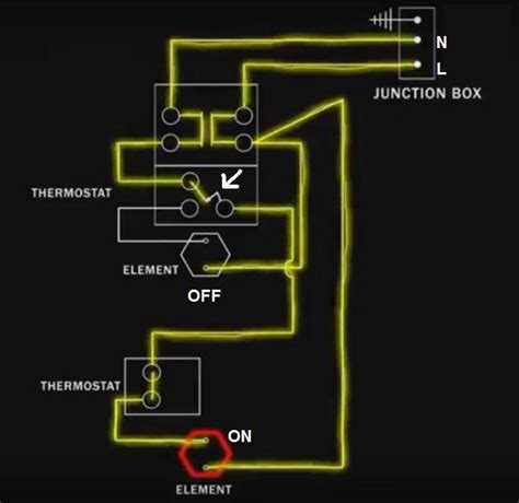 Electric Water Wiring Diagram by Electric Water Heater Wiring With Diagram Electrical