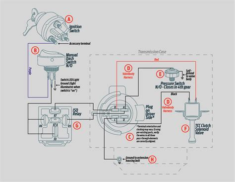 700r4 converter lock up wiring diagram on 700r4