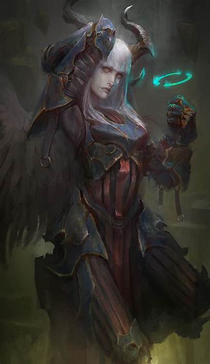 Angel Fallen Deviantart Punchy Fantasy Thedurrrrian Digital