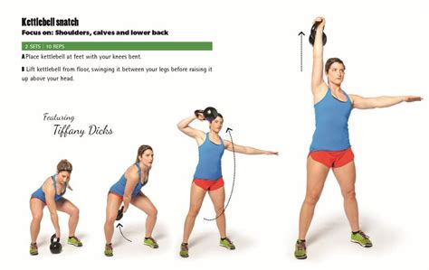 kettlebell snatch muscles clean swings benefits target exercise lift wellness challenge deadlift