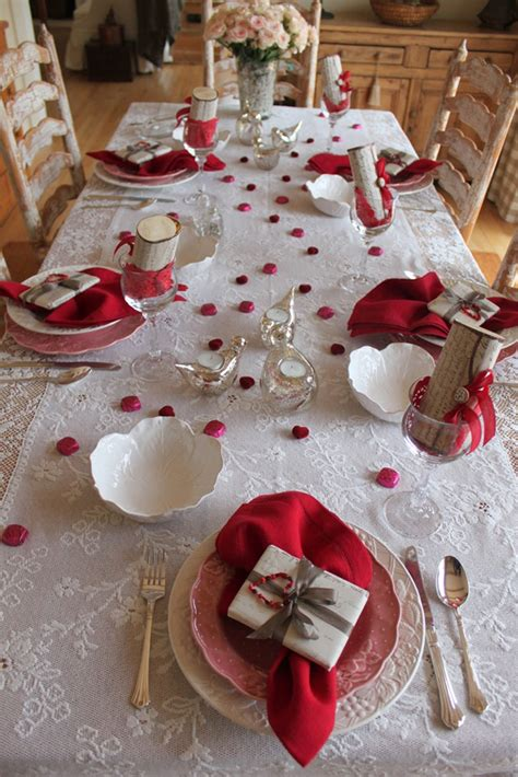 romantic valentine day table ideas homemydesign