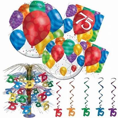 Birthday 75th Decorations Balloon Partyatlewis Happy Elegant