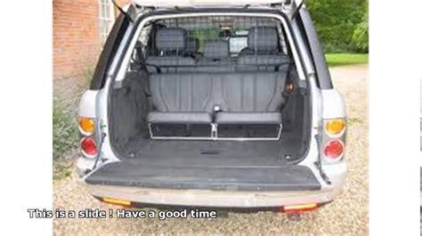 Range Rover 3rd Row Seat