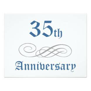 buy 35th birthday wedding anniversary 35th anniversary present gt gt wedding invitations