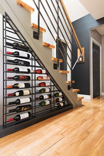 functional wine cellar designs  clever    space   stairs