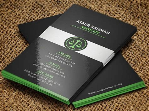 lawyer business cards free templates 25 creative lawyer business card templates psd lawyer