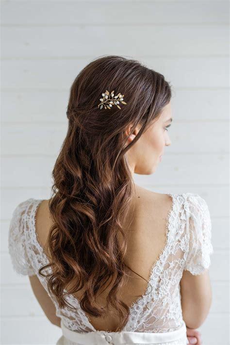 Delphinium Bridal Hair Pin Victoria Millesime