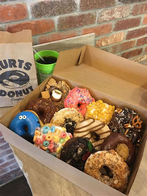 hurts donuts middleton wisconsin hurts donuts delicious donuts cute desserts