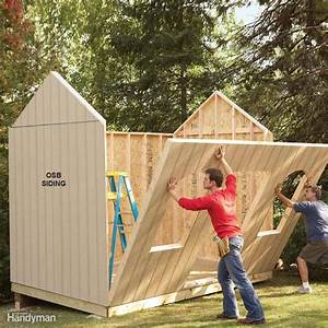 Shed Plans: Storage Shed Plans The Family Handyman
