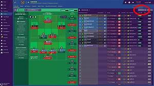 Preparations For A Match In Football Manager 2019