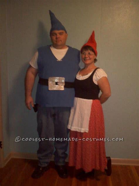 easy  minute couple halloween costume gnomeo