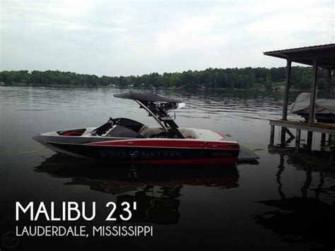 Malibu Boats For Sale In Mississippi by Sold Malibu Wakesetter Vlx Boat In Lauderdale Ms 120380