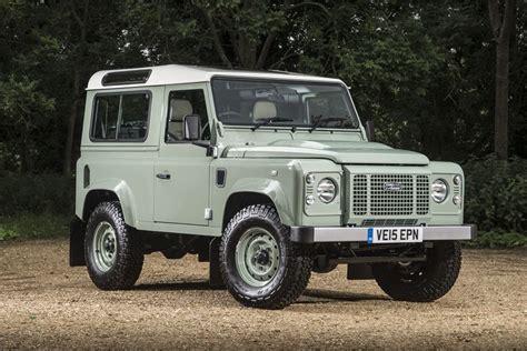 Rover Defender by Land Rover Defender 90 Heritage 2016 Road Test Road