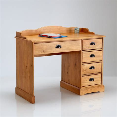 bureau en pin bureau bois massif la redoute mzaol com