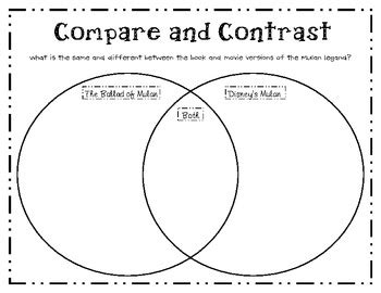 pictures compare  contrast worksheets  leafsea