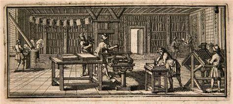 les chambres de l imprimerie le rôle de dans le développement de l 39 imprimerie