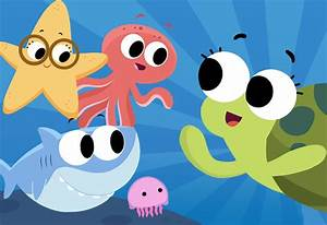 Car Wash Coloring Pages Down In The Deep Blue Sea Super Simple Songs