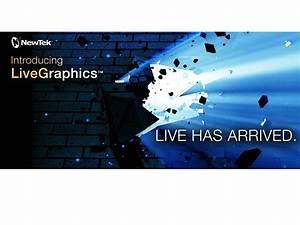 NewTek Introduces LiveGraphics Workflow for Live ...