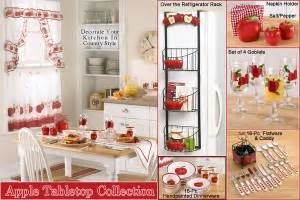 table bed kitchen furniture decorating your kitchen with an apple theme