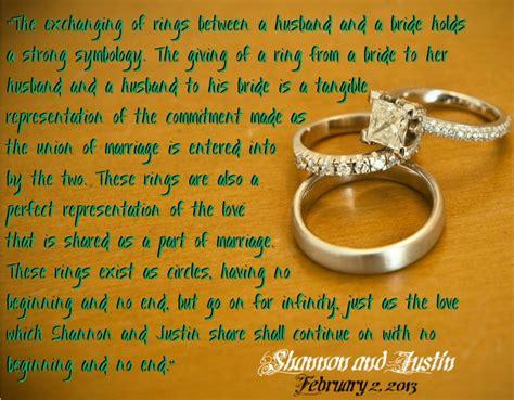 ring ceremony quotes quotesgram