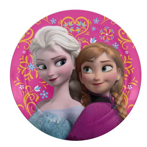 Disney Frozen Anna & Elsa Kids Plates by Zak!