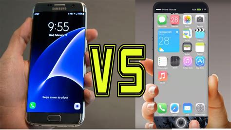samsung galaxy s7 or iphone 6s iphone 7 which should you buy youtube