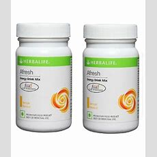 Herbalife Afresh Energy Drink Mix 50g Lemon Flavour Powder