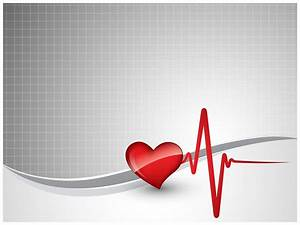 heart beat ppt template tv10129 ppt templates by With cardiac ppt template