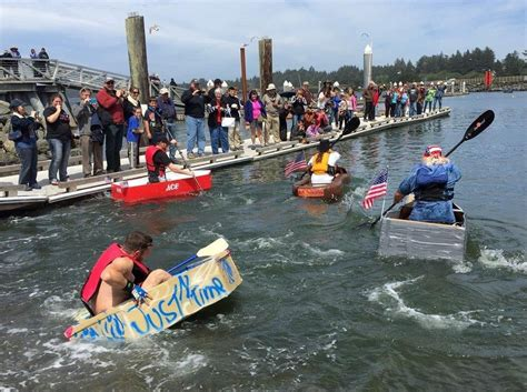 Cardboard Boat Buy by Bandon S Fourth Of July Of Activities Bandon News