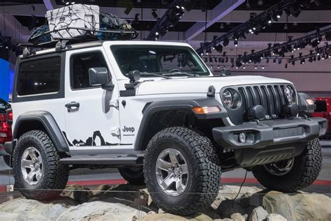 2018 Jeep Wrangler Heads To The Consumer Electronics Show
