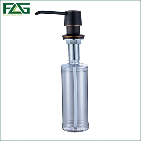 soap dispenser kitchen sink flg liquid soap dispensers for kitchen sink deck mounted 5582