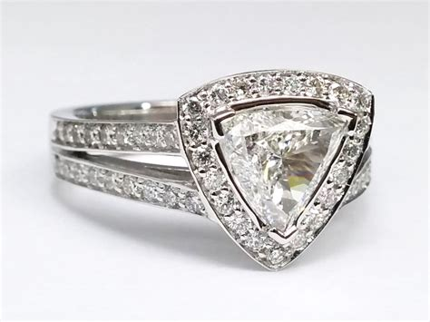 Trillion  Engagement Rings From Mdc Diamonds Nyc. Camo Rings. Quilt Wedding Rings. Carat Tw Rings. Artistic Men's Wedding Rings. Square Shaped Engagement Rings. Priceless Wedding Rings. Masterwork Cushion Halo Engagement Rings. 0.03 Carat Engagement Rings