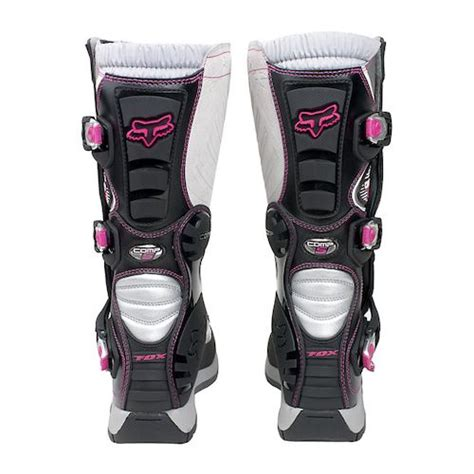 fox womens motocross boots black pink