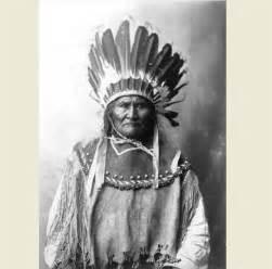 1907 Geronimo Headdress PHOTO, Apache Indian Chief Native ...