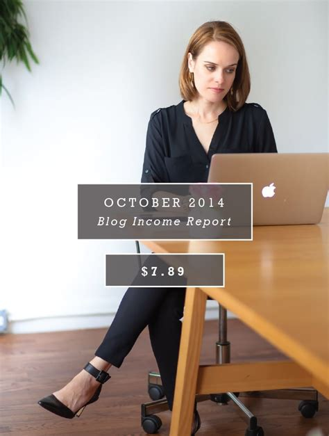 October 2014 Blog Income Report Chic And Sugar